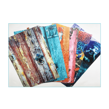 Crafty Individuals Twenty-four A5 Background Paper Sheets - 'Wonderfully Weathered 2'