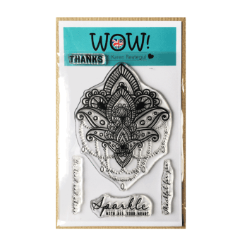 WOW! Must Haves - 'WOW Mandala Clear Stamp Set' 100mm x 140mm