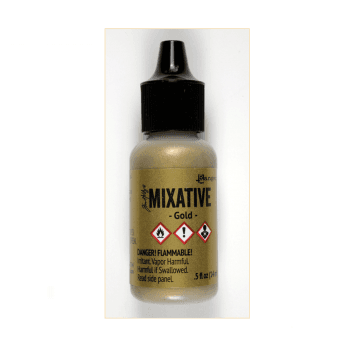 Ranger Must Haves - 'Ranger Gold Alcohol Ink Mixative, 14ml'