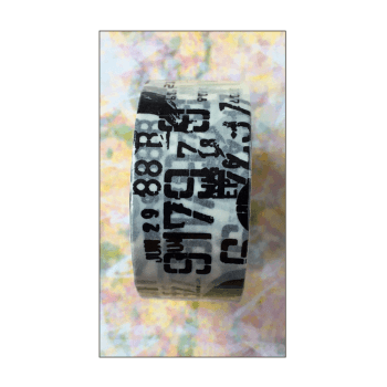 Aall & Create Must Haves - 'Roll of Black & White Washi Numbers Tape by Aall & Create'