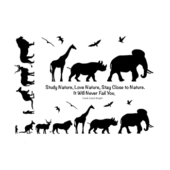 Crafty Individuals CI-565 - 'Animals Galore' Elements Art Rubber Stamps, 137mm x 96mm