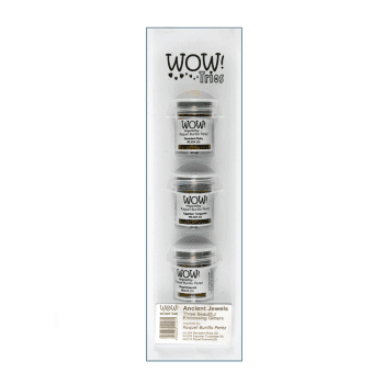 WOW! Must Haves - 'WOW Trio Embossing Powders, Ancient Jewels'