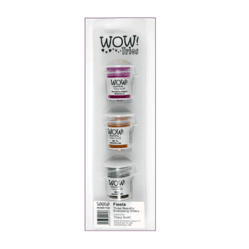 WOW! Must Haves - 'WOW Trio Embossing Glitters, Fiesta'