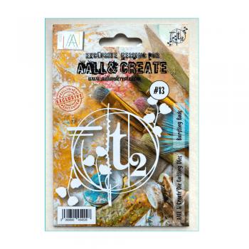 Aall & Create Must Haves - 'Die, Bursting Buds, Aall & Create, 105mm x 110mm