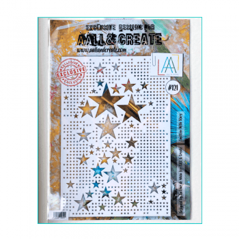 Aall & Create Must Haves - 'Stencil, Smitten With Stars', 200mm x 285mm