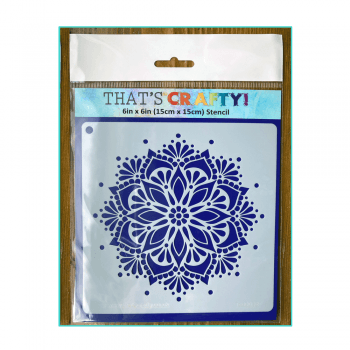 That's Crafty Must Haves - 'Stencil, Magnificent Mandala' 6in x 6in
