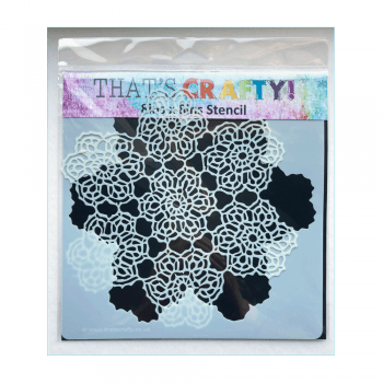 That's Crafty Must Haves - 'Stencil, Lace Doily', 195mm x 190mm