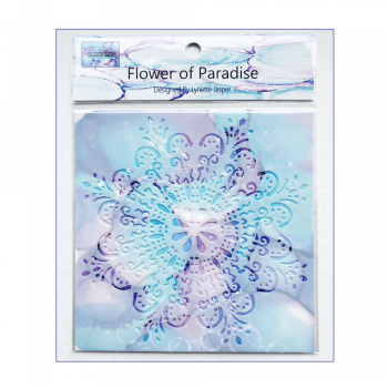Must Haves - 'Stencil, Flower of Paradise' 150mm x 150mm