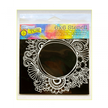 Must Haves - 'Stencil, Ocean Window' 150mm x 150mm