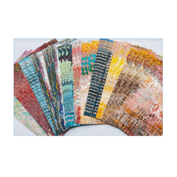 Crafty Individuals Thirty A5 Background Paper Sheets - 'Weathered and More'