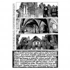 CI-286 - 'Abbeys and Arches' Art Rubber Stamps, 96mm x 137mm