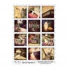 A4 Glossy Sheet - 'Secret Garden 2'