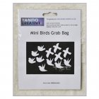 Must Haves - Tando 'Mini Birds Grab Bag' 45mm x 40mm each approximately
