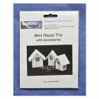 Must Haves - Tando 'Mini House Trio' 60mm x 60mm each approximately