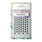Must Haves - 'Dinky Stencil, Punchinella Stars', 75mm x 120mm