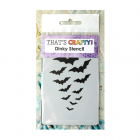 Must Haves - 'Dinky Stencil, Flight of the Bats', 75mm x 120mm