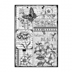 CI-452 - 'Nature's Beauty' Art Rubber Stamp, 96mm x 137mm