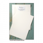 White Glossy Card - 'White Glossy A5 Stamping Card, 12 sheets', 150mm x 210mm