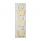 Must Haves - 'Decorative Wood Flower Shaped Hanging Frames', 115mm x 435mm
