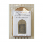 Must Haves - 'ATC Art Shrine x 3 Pack, Round Top' 100mm x 170mm x 35mm