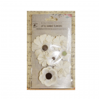 Must Haves - 'Jamie Moon Light Paper Flowers, 7 pcs, up to 70mm