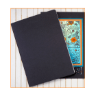 Must Haves - 'Blank Black Sketchbook' 148mm x 208mm