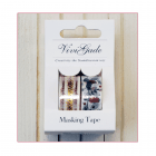 Must Haves - '2 Rolls Christmas and Robins Washi Tape' 15mm x 4m each