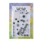 Must Haves - 'WOW To You and Yours Clear Stamp Set' 100mm x 140mm