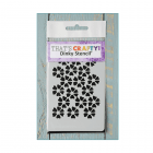 Must Haves - 'Dinky Stencil, Flowers' 75mm x 120mm