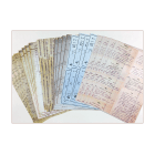 Twenty-four A5 Background Paper Sheets - 'Vintage Style Journaling Papers'