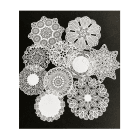 Must Haves - 'Delightful Laser Cut Paper Doilies x 10' up to 80mm diameter