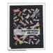 Crafty Individuals CI-409 - 'Dreaming of Dragonflies' Art Rubber Stamp, 90mm x 122mm