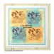 Crafty Individuals CI-416 - 'Feathered Friends' Art Rubber Stamp, 65mm x 100mm
