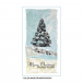 Crafty Individuals CI-462 - 'Large Christmas Tree' Art Rubber Stamp, 69mm x 95mm