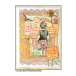 Crafty Individuals CI-477 - 'A Vintage Postcard' Art Rubber Stamp, 104mm x 64mm
