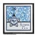 Crafty Individuals CI-479 - 'Seeing Stars Background' Art Rubber Stamp, 96mm x 137mm