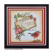 Crafty Individuals CI-456 - 'Sweet Robin Redbreast' Art Rubber Stamp, 71mm x 58mm