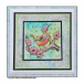 Crafty Individuals CI-483 - 'Blossom Robin' Art Rubber Stamp, 89mm x 83mm