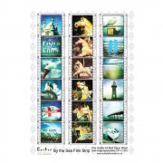 A4 Matt Sheet - 'By the Sea Film Strip'