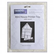 Must Haves - Tando 'Mini House Printer Tray with stand', 112mm x 175mm