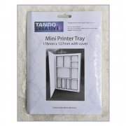 Must Haves - Tando 'Mini Printer Tray with cover', 127mm x 178mm