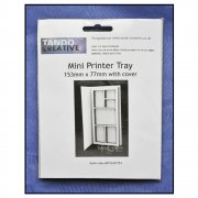 Must Haves - Tando 'Mini Printer Tray with cover', 77mm x 153mm