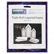Must Haves - Tando 'Triple Arch Layered Frame' 155mm x 140mm