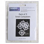 Must Haves - Tando 'Pack of 5 Small Compasses' 68mm x 68mm each approximately
