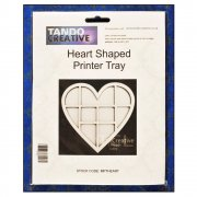 Must Haves - Tando 'Heart Shaped Printer Tray', 170mm x 165mm