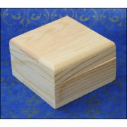 Must Haves - 'Small Size Wooden Jewellery box' 60mm x 60mm x 35mm