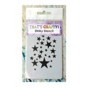 Must Haves - 'Dinky Stencil, Star Shower', 75mm x 120mm