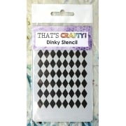 Must Haves - 'Dinky Stencil, Harlequin', 75mm x 120mm