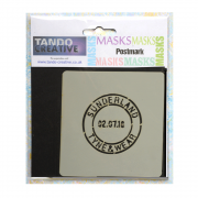Must Haves - 'Mini Mask, Postmark' 100mm x 100mm