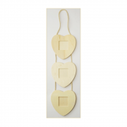 Must Haves - 'Decorative Wood Heart Shaped Hanging Frames', 110mm x 455mm